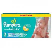 Pampers Active Baby-dry Midi 108ks