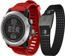 Garmin - Fenix 3 Silver HR Optic