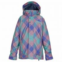 Burton Girls Elodie checkers print