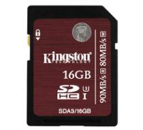 Kingston SDHC 16GB UHS-I U3