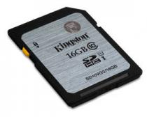 Kingston SDHC 16GB Class 10 UHS-I U1