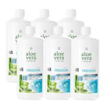 Aloe Vera Drinking Gel Freedom Série 6 ks 6 x 1000 ml