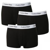 Calvin Klein Cotton Stretch Low Rise Trunk Black