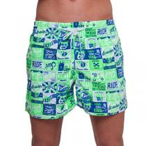 69SLAM Plavky Boardshort Vintage Ride Green