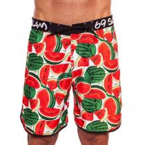 69SLAM Plavky Krátké Boardshort Medium Watermelon