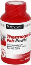 SURVIVAL Thermogenic Fair Power 60 kapslí