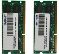 Patriot Signature Line 16GB (2x8GB) DDR3 1600 SODIMM CL 11 - PSD316G1600SK
