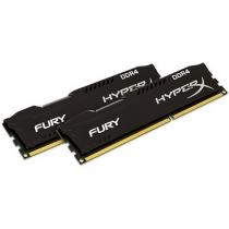 Kingston 8GB KIT DDR4 2400MHz CL15 Kingston HyperX Fury Black Series (HX424C15FBK2/8)