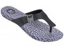Zaxy žabky Print Flat Thong Black