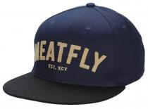 Meatfly District Snapback C Navy Black