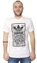 adidas Originals Handdrawn Basketball White