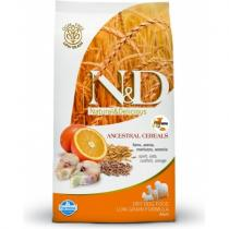 N&D Low Grain Dog Adult Mini Codfish Orange 800g