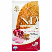 N&D Low Grain Dog Senior Small Medium Chicken Pomegranate 2,5kg