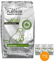 PLATINUM Natural Adult Chicken 15kg