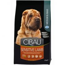 CIBAU Dog Adult Sensitive Lamb Rice 2,5kg