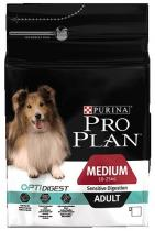 Pro Plan Dog Adult Medium Sensitive Digestion 1,5kg