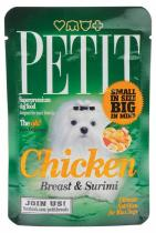 PETIT Pouches Chicken Breast Surimi 80g