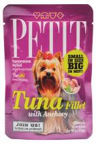 PETIT Pouches Tuna Fillet with Anchovy 80g