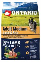 Ontario Adult Medium Lamb Rice 2,25kg
