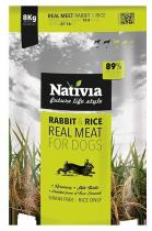 Nativia Real Meat Rabbit Rice 8kg