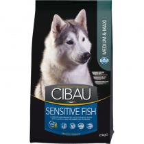 CIBAU Dog Adult Sensitive Fish Rice 12kg