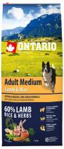 Ontario Adult Medium Lamb Rice 12kg