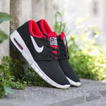 Nike Stefan Janoski Max Black/ White-University Red