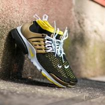 Nike Air Presto Flyknit Ultra Black/ Yellow Strk- Metallic Gold- Natural G
