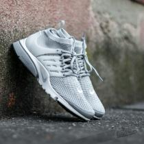 Nike Air Presto Flyknit Ultra Wolf Grey/ Pure Platinum- White- Black