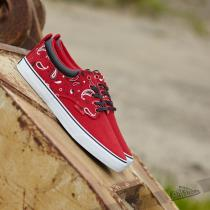 Radii The Jax Scarlet Paisley Canvas