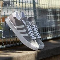 adidas CourtVantage Solid Grey/ White/ Metallic Silver Solid