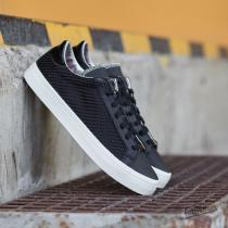 adidas Court Vantage Core Black/ Silver MT/ Core White