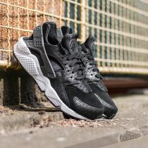 Nike Air Huarache Run Premium Black/ Dark Grey-White