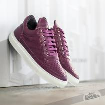 Filling Pieces Low Top Stripe Quilted Purple