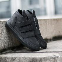 Filling Pieces Mid Top Transformed Double Strap All Black