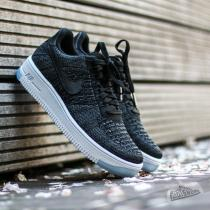 Nike W Air Force 1 Flyknit Low Black/ Black-White