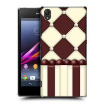 Pouzdro Head Case Diamond Cake Cafe Patterns pro Sony Xperia Z1