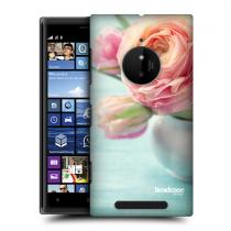 Pouzdro Head Case Peach Roses In A Vase Flowers pro Nokia Lumia 830