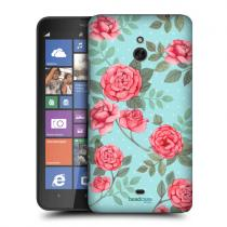 Pouzdro Head Case Flowers In Nostalgic Rose Patterns pro Nokia Lumia 1320