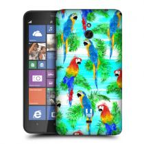 Pouzdro Head Case Colourful Birds Tropical Paradisepro Nokia Lumia 1320