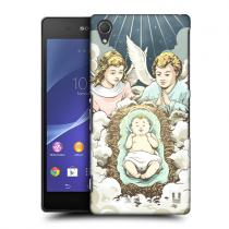 Pouzdro HeadCase ANGELS Christmas Nativity pro Sony Xperia Z2
