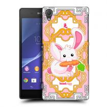 Pouzdro HeadCase Rabbit Zodiac Animal pro Sony Xperia Z2
