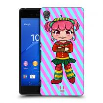 Pouzdro HeadCase Cherry Strawberry Candy Chibi pro Sony Xperia Z4