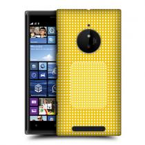 Pouzdro HeadCase Yellow Strip Bandages pro Nokia Lumia 830