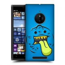 Pouzdro HeadCase Tongue Alien Face Monsters pro Nokia Lumia 830