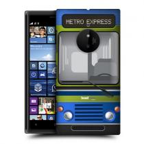 Pouzdro HeadCase Smooth Operator Bus Stuff pro Nokia Lumia 830