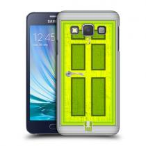 Pouzdro HeadCase Lime Coloured Door pro Samsung Galaxy A3, A300