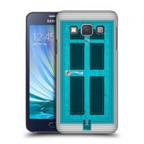 Pouzdro HeadCase Aqua Coloured Door pro Samsung Galaxy A3, A300