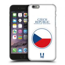 Pouzdro HeadCase Flag Of Czech Republic Flag Patches pro HTC Desire 620G DS Gloss