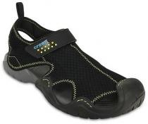 Crocs Swiftwater Black/Charcoal